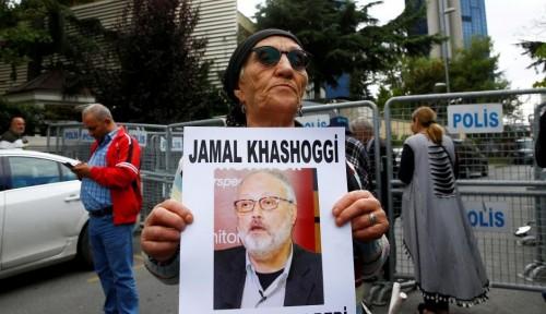 Foto Buntut Hilangnya Khashoggi, Perusahaan AS Batalkan Keikutsertaannya dalam Konferensi Investor Saudi