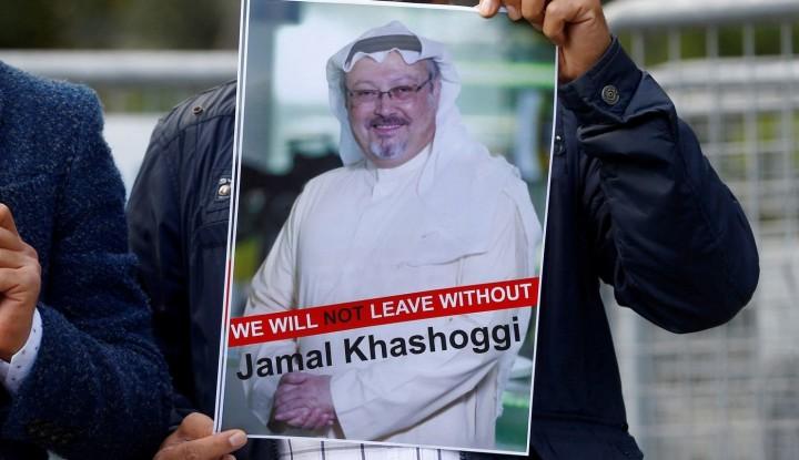 Foto Berita Buntut Kematian Tragis Khashoggi, AS Cabut Visa Pejabat Arab Saudi