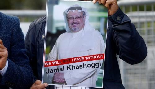 Foto Arab Saudi Akui Jamal Khashoggi Meninggal dalam Konsultat