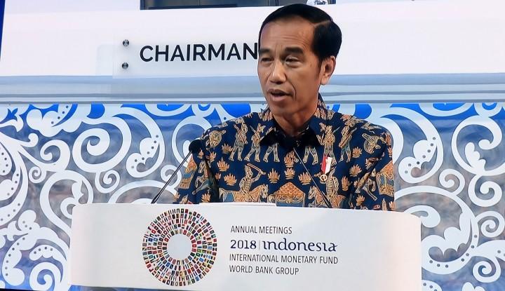 IMF dan Bank Dunia Sanjung Pidato Jokowi - Warta Ekonomi