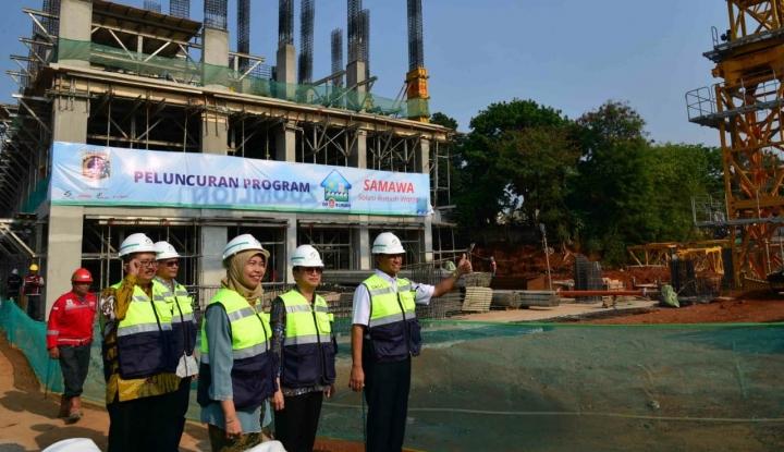 Foto Berita Jokowi Canangkan Rumah DP 0 Persen, Bang Anies: Alhamdulillah, Dulu Kan Banyak Kritik