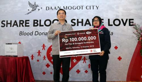 Foto Wujudkan Solidaritas, Damoci Gelontorkan Rp100 Juta untuk Palu dan Donggala