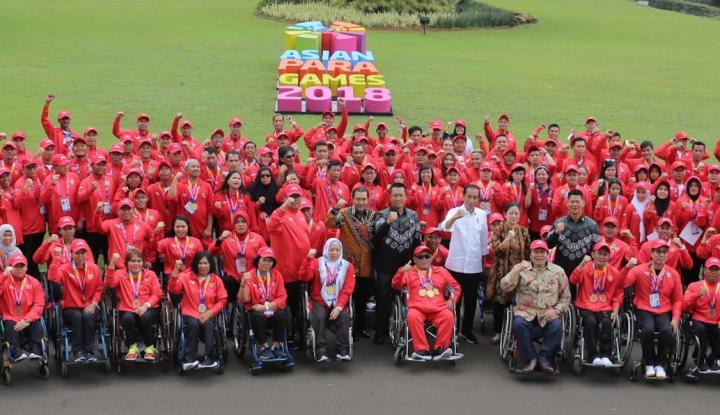 Foto Berita JK: Atlet Asian Para Games Pemenang Kemanusiaan