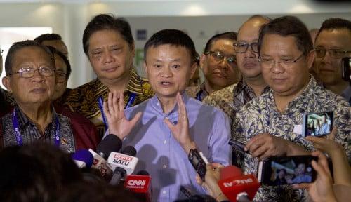 Foto Jack Ma Berencana Dirikan Lembaga Pelatihan Pengusaha Teknologi di Indonesia