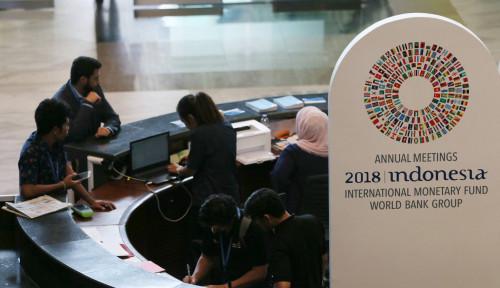 Foto IMF-WB, Indonesia Raih Dua Standing Ovation