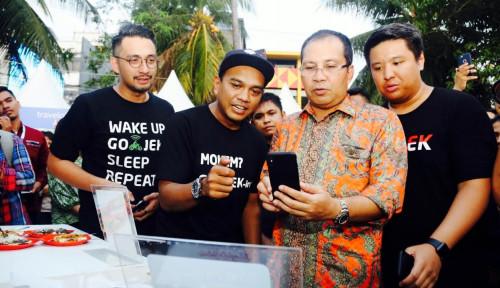 Foto Ekosistem Go-Jek Bantu Majukan Potensi Lokal Makassar di F8