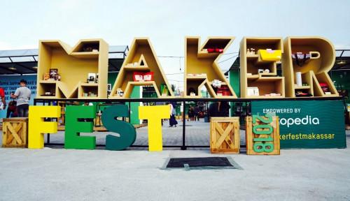 Foto Makerfest 2018 Makassar Dorong UMKM 'Naik Kelas'