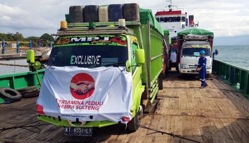Foto Pertamina Balikpapan Kirim Lagi 5.040 LPG 3 Kg ke Palu