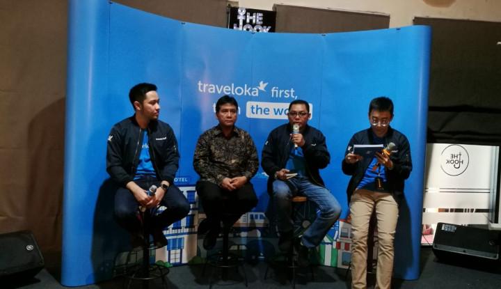 Foto Berita Traveloka Hotel Awards 2018, Pemberian Penghargaan ke Mitra Hotel Sang Unicorn