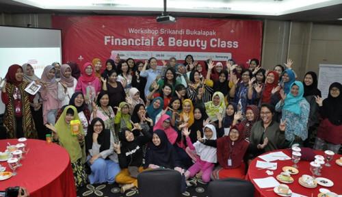 Foto Srikandi Bukalapak Semarang Gelar Talk Show Financial dan Beauty Class untuk Womenpreneur