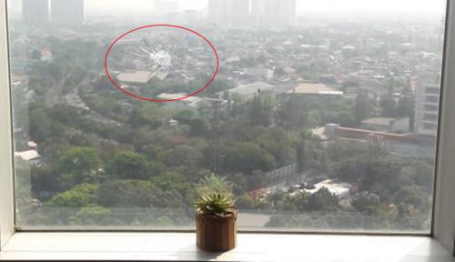 Foto Usai Peluru Nyasar di Gedung DPR, Gerindra Minta Lapangan Tembang Dipindahkan