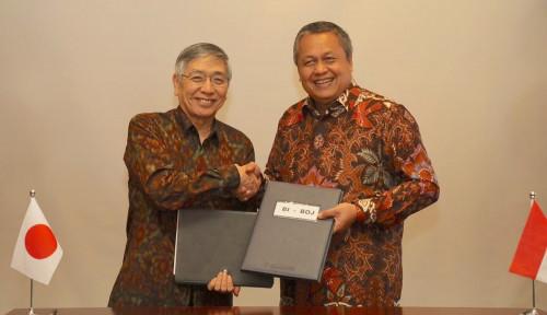Foto BI dan BoJ Kerja Sama Bilateral Swap Arrangement