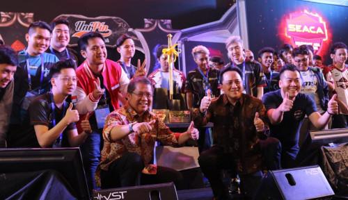 Foto Rudiantara Buka Kompetisi eSport se-Asia Tenggara