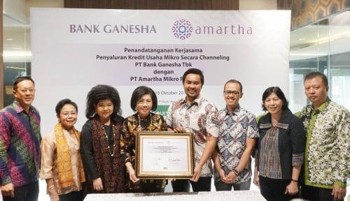Foto Amartha-Bank Ganesha Tingkatkan Usaha Mikro di Indonesia