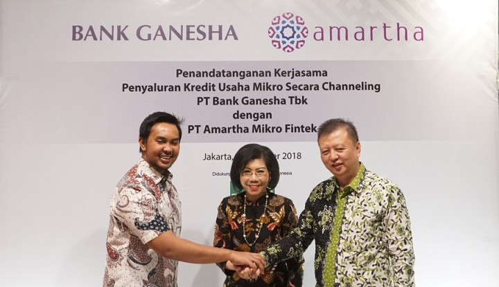 Foto Berita Kolaborasi Bank Ganesha dan Amartha Fintech Dorong Kemajuan Pengusaha Mikro