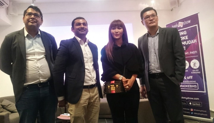 Foto Berita BookMyShow Indonesia Luncurkan Fitur Pemesanan Online Karaoke