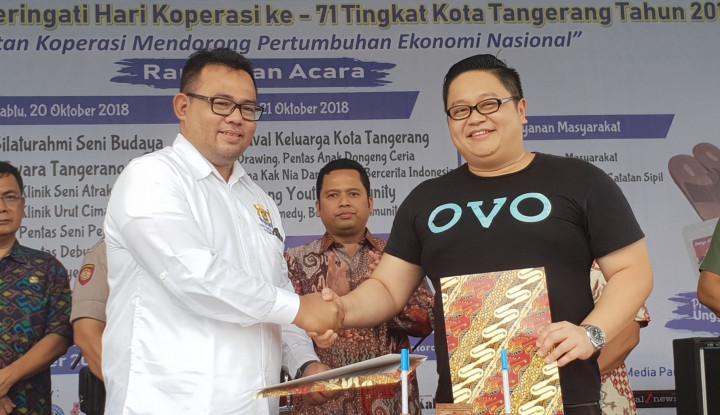 Foto Berita Kadin Kota Tangerang Gandeng OVO sebagai Platform Pembayaran UMKM