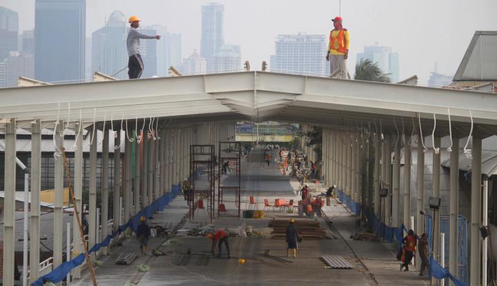 Foto Berita Skybridge Tanah Abang Bisa Bermanfaat, Apabila...