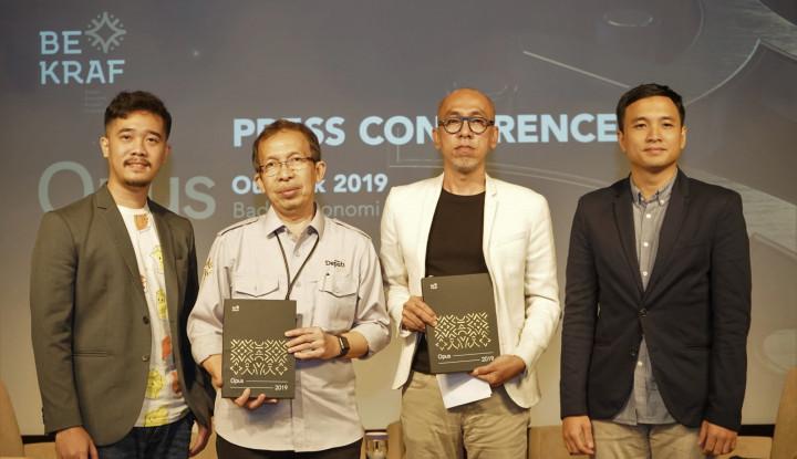 Foto Berita Bekraf Gelar World Conference on Creative Economy Bulan Depan