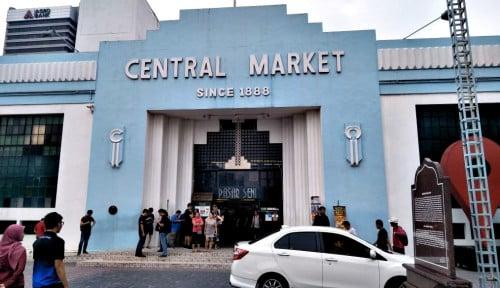 Foto Central Market, Pasar Seni Warisan Budaya Sekaligus Magnet Belanja