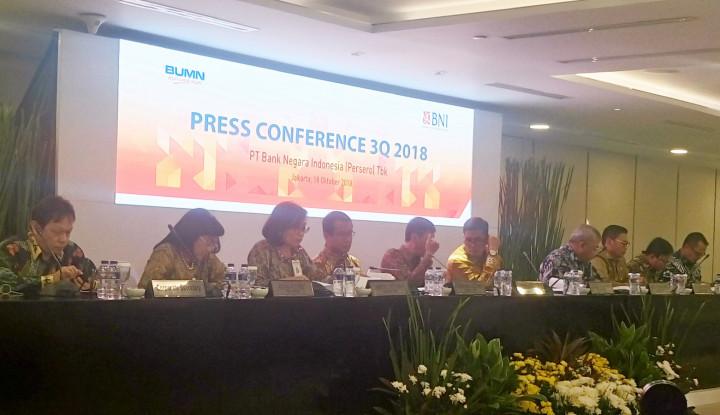 Foto Berita Rasio NPL BNI Turun 2% di Kuartal III 2018