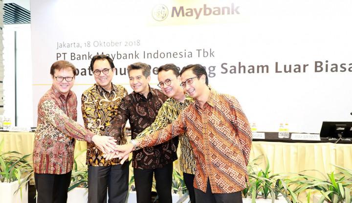 Foto Berita Maybank Indonesia Raih Jajaran Direksi dan Dewan Komisaris Terbaru Usai RUPSLB