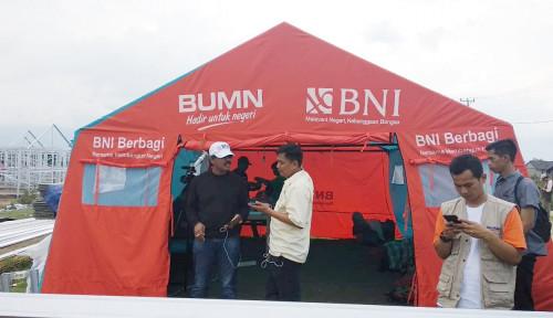 Foto BNI dan Mandiri Percepat Pembangunan Huntara di Sigi