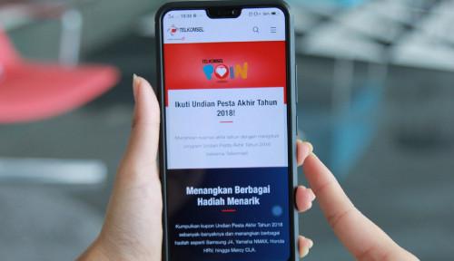 Foto Jelang Akhir 2018, TelkomselBagikanRibuan Hadiah Spesial