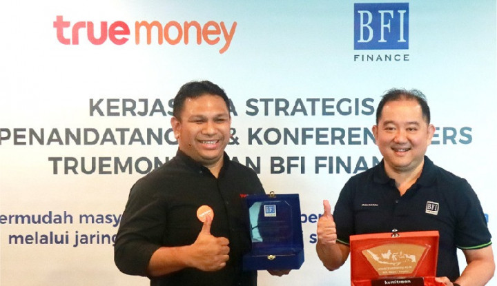 Foto Berita TrueMoney Gandeng BFI Finance dalam Pengajuan Pinjaman