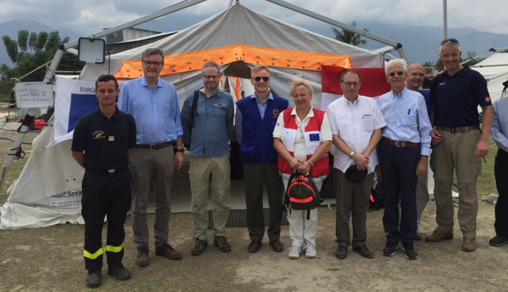 European Union Ambassadors Visits Palu - Warta Ekonomi