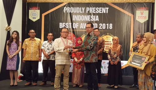 Foto Askrindo Syariah Raih The Most Trusted Company in Service and Costumer Satisfaction 2018