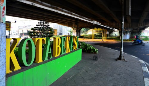 Foto Pakai Duit dari Jakarta Rp500 Miliar, Pemkot Bekasi Bikin Jembatan