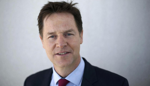 Foto Facebook Rekrut Mantan Wakil PM Inggris Nick Clegg