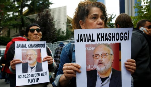 Foto Investigasi Kasus Kematian Khashoggi, Pentolan CIA Terbang ke Turki