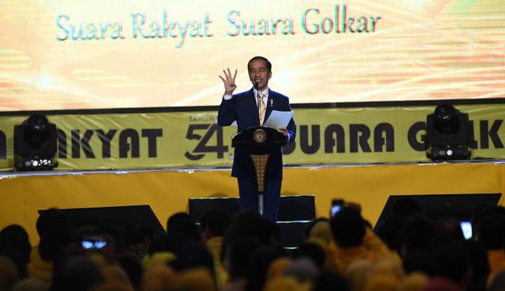 Foto Berita Jokowi Pidato Politik Kebohongan, TKN: Kasus Chiken Rice Contohnya