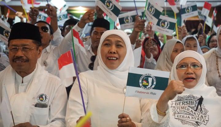Foto Berita Terjadi Insiden, Khofifah Tegaskan 'Surabaya Membara' Tahun Depan Bakal Diperketat