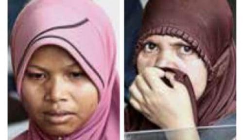 Foto Nur Azizah, TKI Asal Sulawesi Korban Longsor di Penang Berharap Suaminya Ditemukan