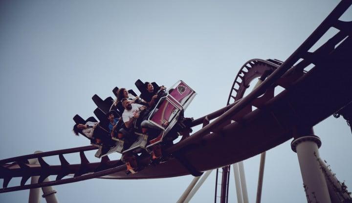Foto Berita Kehidupan Pengusaha Sama dengan Naiki Roller Coaster? Simak Penjelasannya