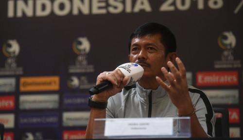 Foto Indra Sjafri Coret Tiga Nama Pemain Timnas U-22, Siapa Saja?
