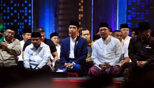 Foto Jokowi Bukan Anti-Islam, Ini Buktinya