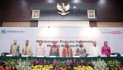 Foto Pemerintah Paparkan Capaian Kerja Selama 4 Tahun Lewat FMB9