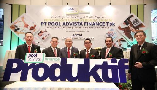 POLA Hingga Mei, Pool Advista Finance Salurkan Kredit Rp308 M