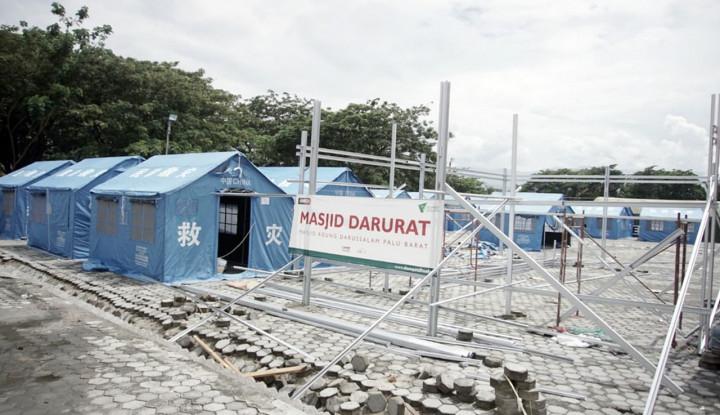 Foto Berita Dompet Dhuafa Inisiasi 134 Rumah Sementara untuk Pengungsi Gempa Palu