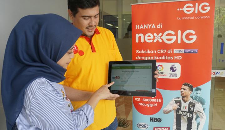 Foto Berita GIG Jalin Kerja Sama dengan Tokopedia untuk Mudahkan Pelanggan