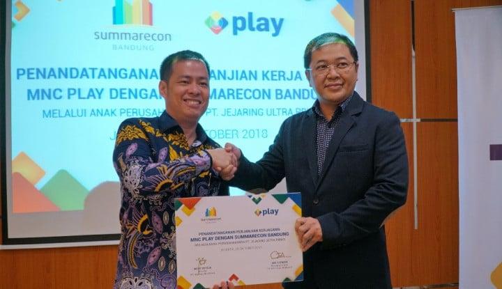 Foto Berita MNC Play Rambah Kawasan Terpadu Summarecon Bandung