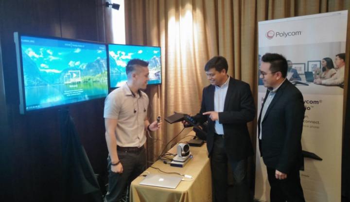 Foto Berita Polycom: Video Conferencing Mampu Tingkatkan Produktivitas Bisnis