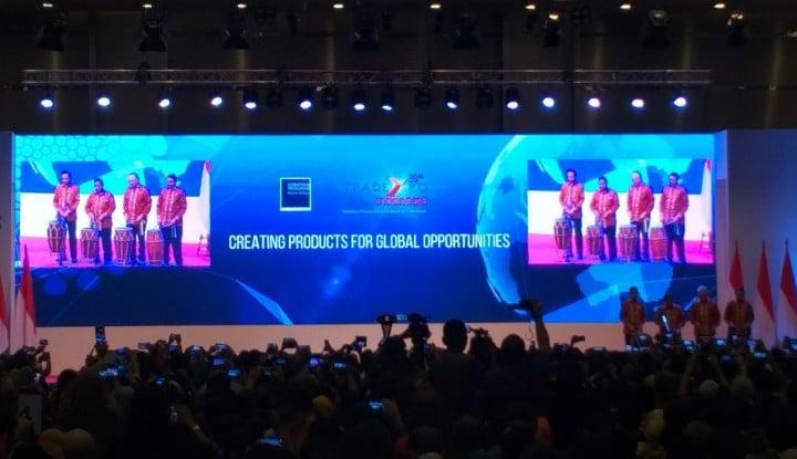 Foto Berita Indonesia Bidik Kontrak Dagang US$5,19 Miliar di TEI 2018