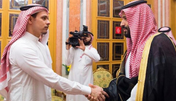 Foto Berita Putra Mendiang Jamal Khashoggi Tinggalkan Arab Saudi
