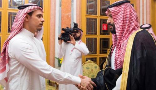 Foto Putra Mendiang Jamal Khashoggi Tinggalkan Arab Saudi
