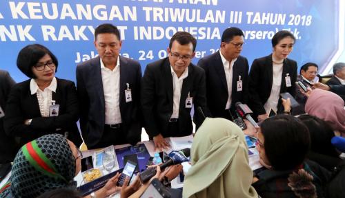 Foto Wow, Kredit BRI Tumbuh 16,5% di Kuartal III-2018